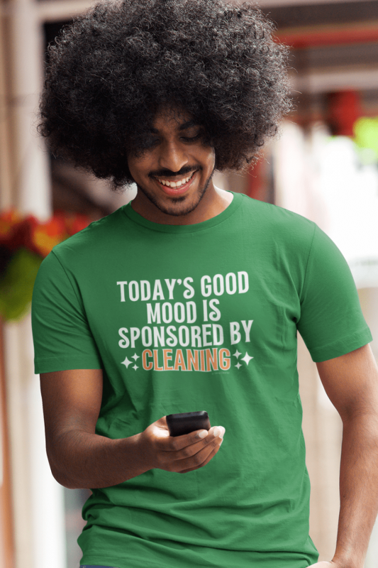 Sponsored by Cleaning Savvy Cleaner Funny Cleaning Shirts Men's Standard Tee