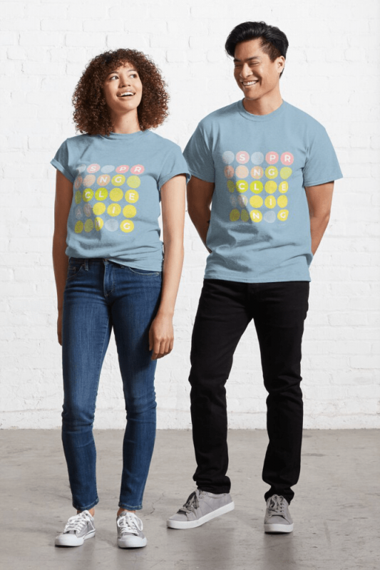 Spring Cleaning, Savvy Cleaner Funny Cleaning Shirts, Classic shirt