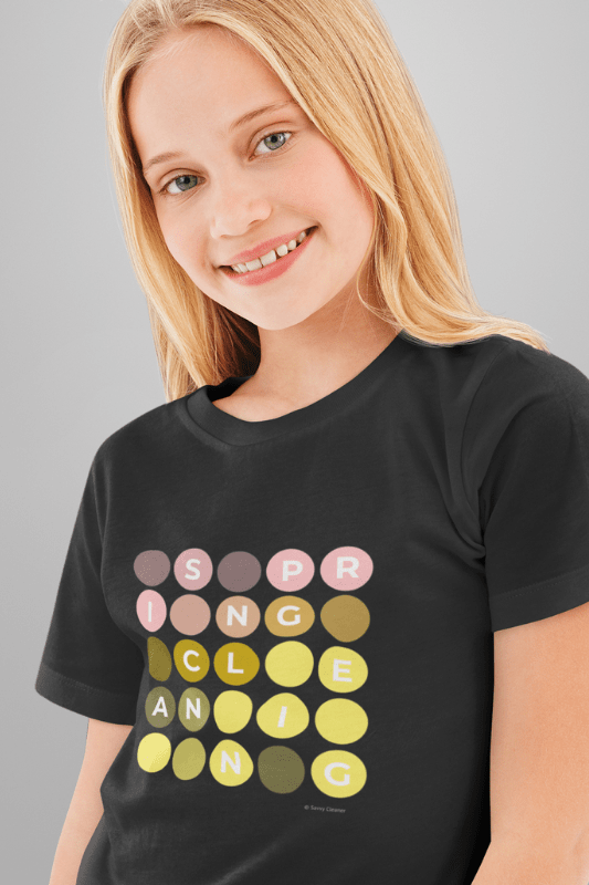 Spring Cleaning, Savvy Cleaner Funny Cleaning Shirts, Kids Premium T-Shirt
