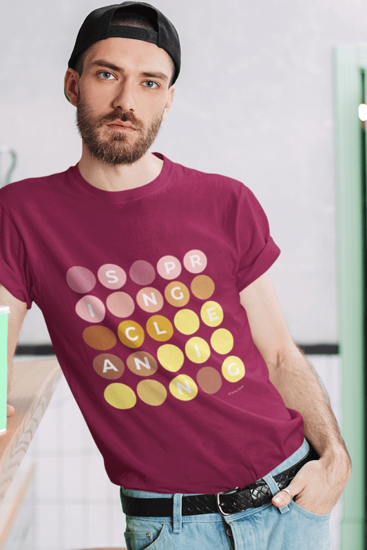 Spring Cleaning, Savvy Cleaner Funny Cleaning Shirts, Premium T-Shirt