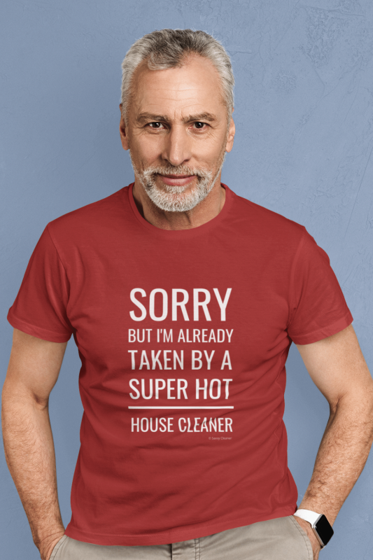 Super Hot House Cleaner Savvy Cleaner Funny Cleaning Shirts Men's Standard Tee