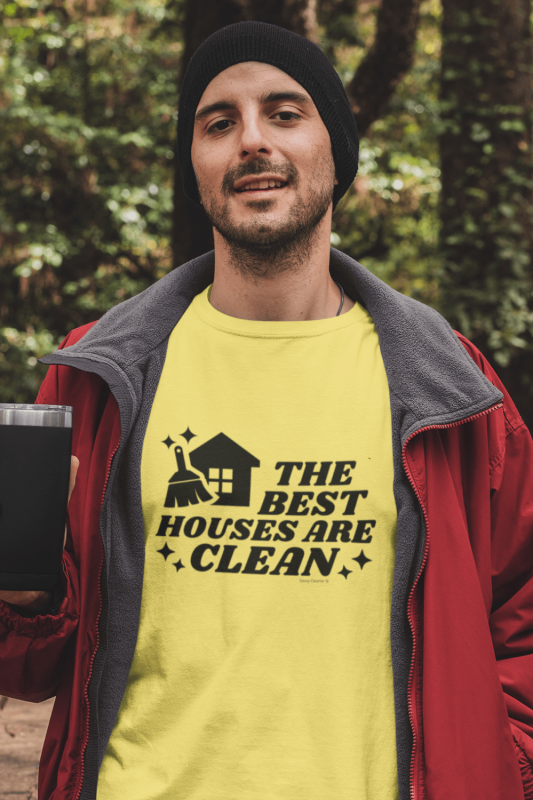 The Best Houses Savvy Cleaner Funny Cleaning Shirts Men's Standard T-Shirt