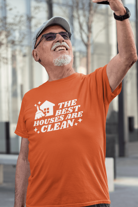 The Best Houses Savvy Cleaner Funny Cleaning Shirts Men's Standard Tee