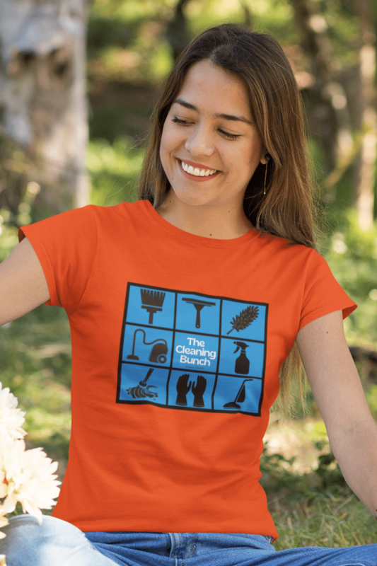 The Cleaning Bunch Savvy Cleaner Funny Cleaning Shirts Classic Tee