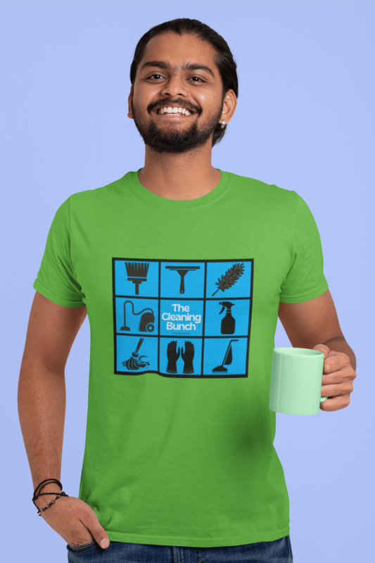 The Cleaning Bunch Savvy Cleaner Funny Cleaning Shirts Men's Standard T-Shirt