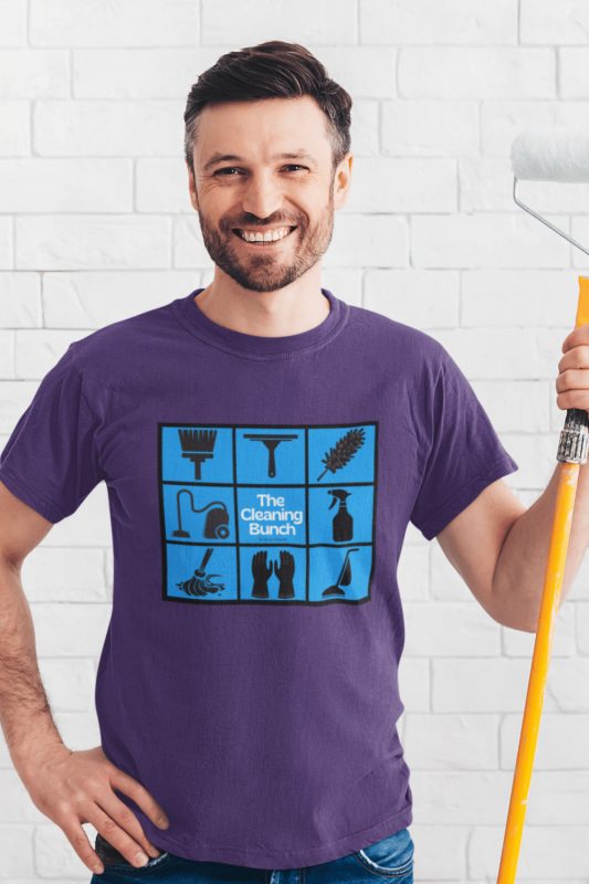 The Cleaning Bunch Savvy Cleaner Funny Cleaning Shirts Standard T-Shirt