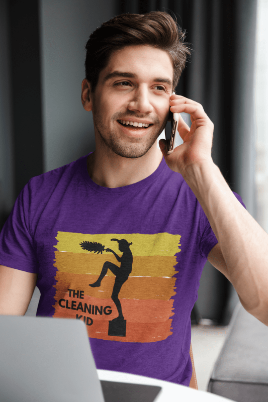 The Cleaning Kid Savvy Cleaner Funny Cleaning Shirts Classic T-Shirt