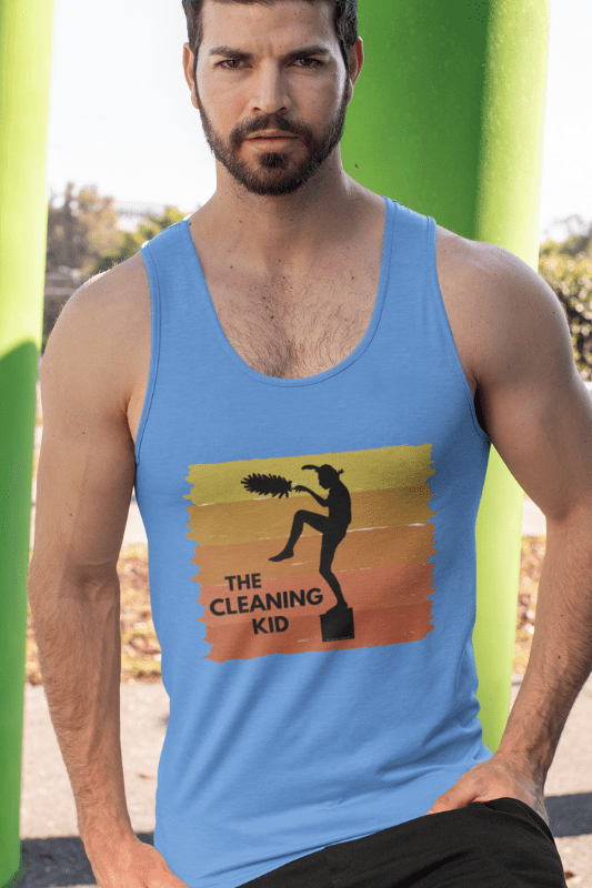 The Cleaning Kid Savvy Cleaner Funny Cleaning Shirts Classic Tank Top