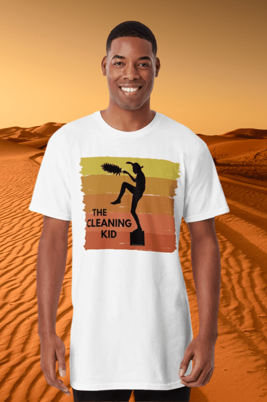 The Cleaning Kid Savvy Cleaner Funny Cleaning Shirts Long Tee