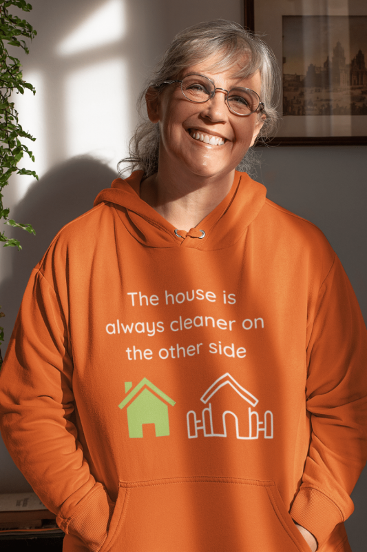 The House Is Always Cleaner Savvy Cleaner Funny Cleaning Shirts Hoodie