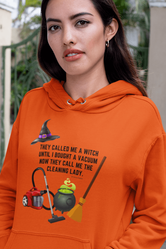 They Called Me a Witch, Savvy Cleaner Funny Cleaning Shirts, Hoodie