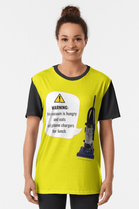 This Vacuum is Hungry, Savvy Cleaner Funny Cleaning Shirts, Graphic Shirt