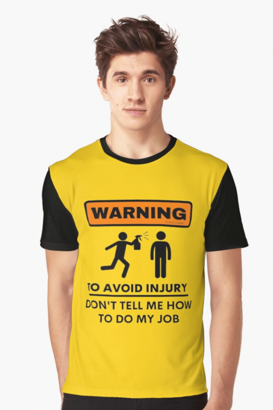To Avoid Injury Savvy Cleaner Funny Cleaning Shirts Graphic Tee