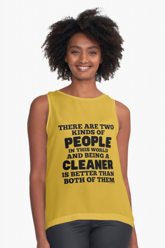 Two Kinds of People Savvy Cleaner Funny Cleaning Shirts (7)