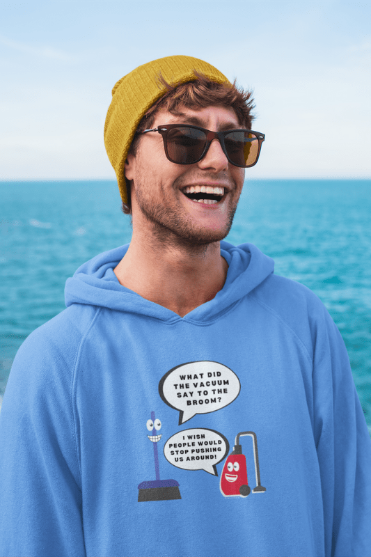 Vacuum Joke Savvy Cleaner Funny Cleaning Shirts Classic Pullover Hoodie