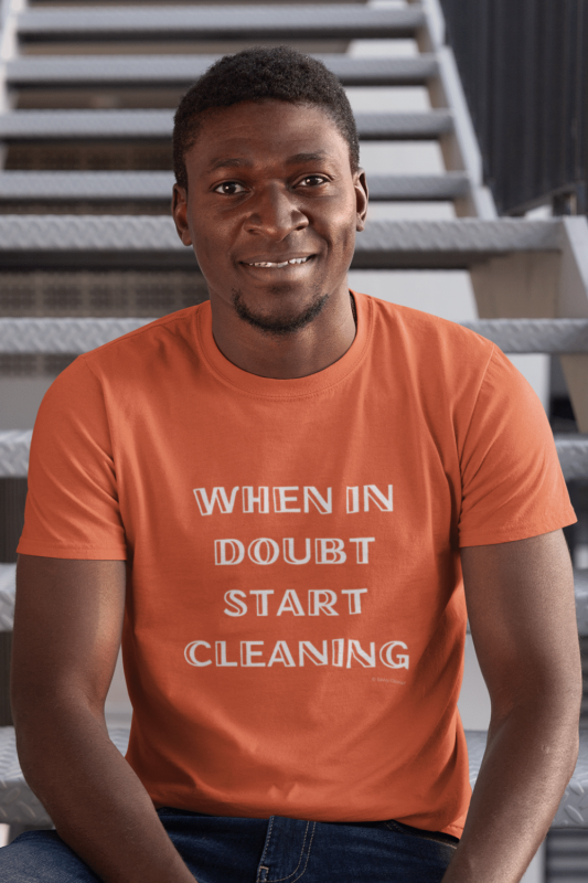 When In Doubt Savvy Cleaner Funny Cleaning Shirts Men's Standard Tee