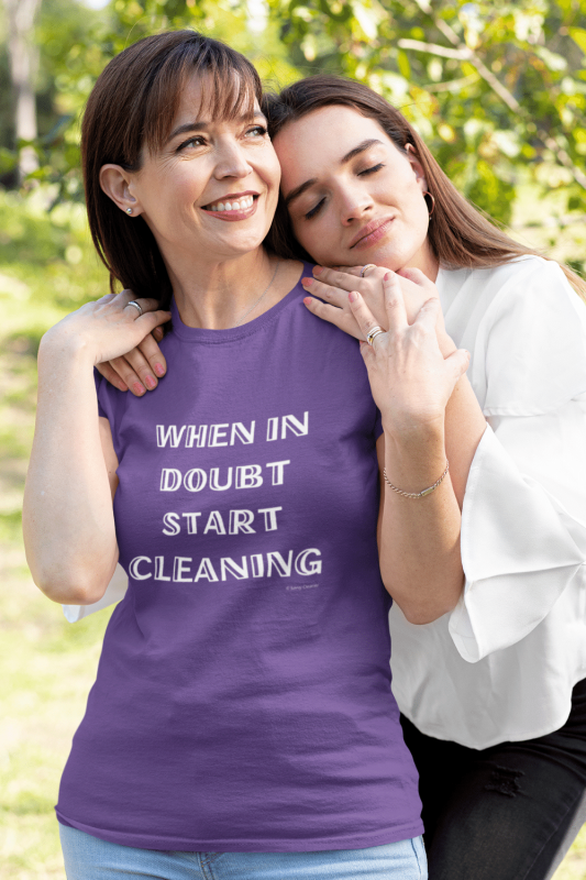 When In Doubt Savvy Cleaner Funny Cleaning Shirts Women's Standard Tee