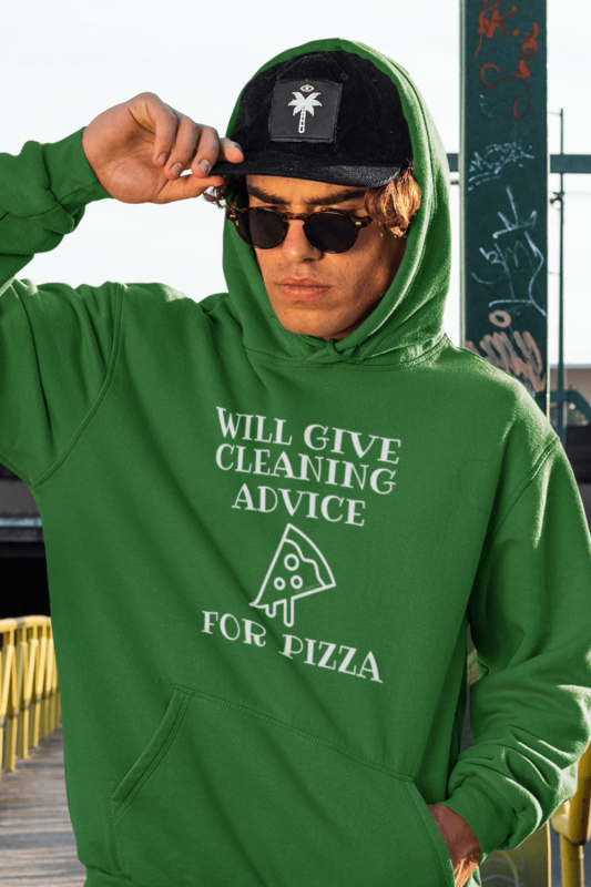 Will Give Cleaning Advice Savvy Cleaner Funny Cleaning Shirts Classic Pullover Hoodie