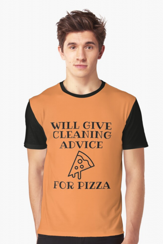 Will Give Cleaning Advice Savvy Cleaner Funny Cleaning Shirts Graphic Tee