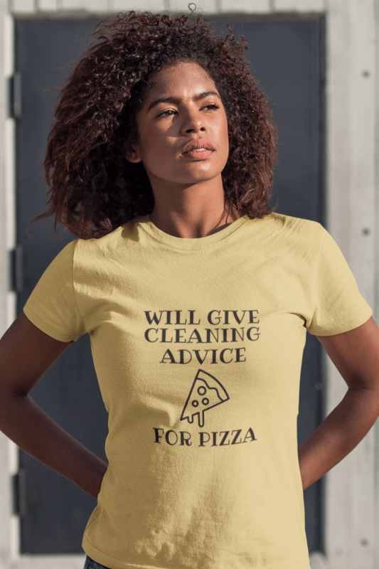 Will Give Cleaning Advice Savvy Cleaner Funny Cleaning Shirts Premium Tee
