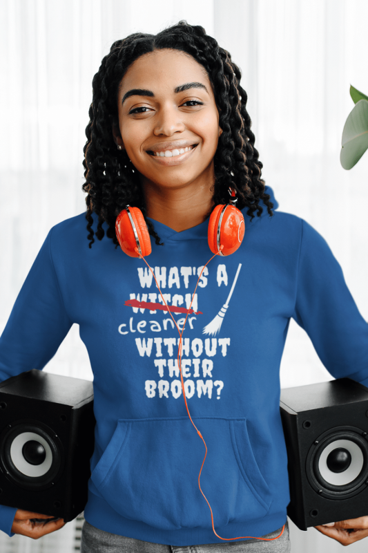 Without Their Broom Savvy Cleaner Funny Cleaning Shirts Classic Pullover Hoodie
