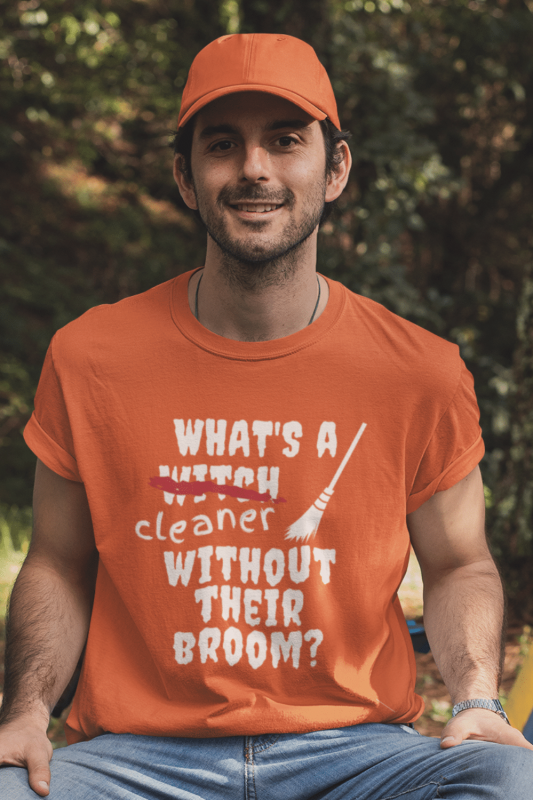 Without Their Broom Savvy Cleaner Funny Cleaning Shirts Standard T-Shirt