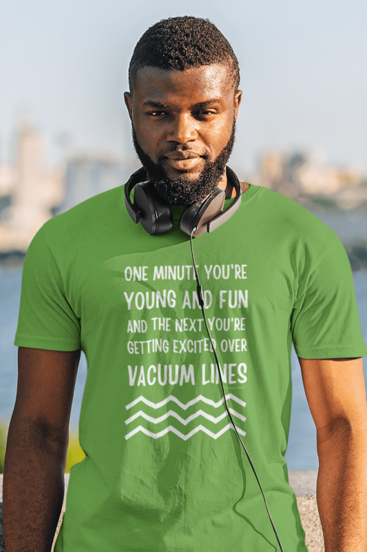 Young and Fun Savvy Cleaner Funny Cleaning Shirts Men's Standard Tee